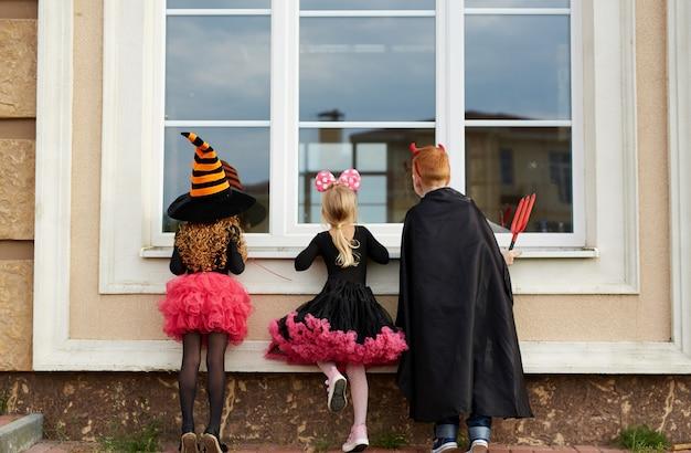 Truques de halloween Foto gratuita