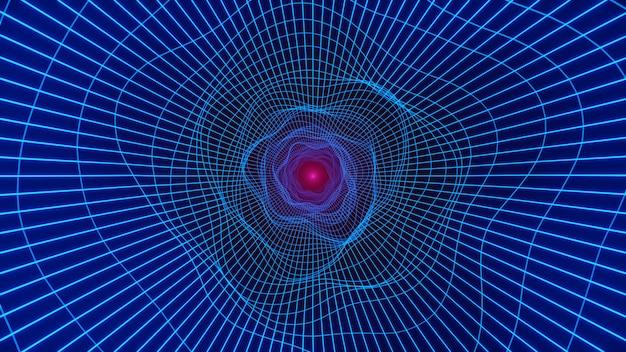 Túnel de loop wormhole Foto Premium