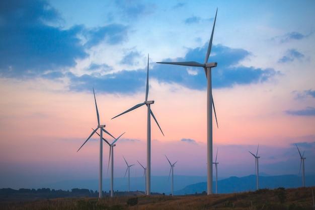 Turbinas eólicas Foto Premium