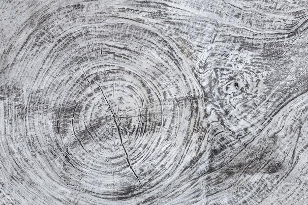 Um fundo cinzento textured de madeira. estrutura do material de madeira, Foto Premium