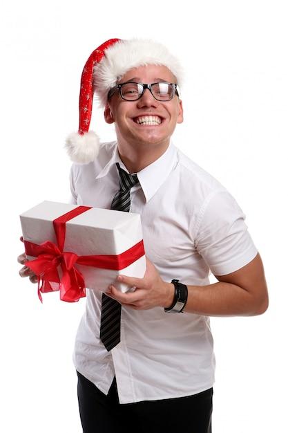 Um jovem atraente com sorriso Foto gratuita