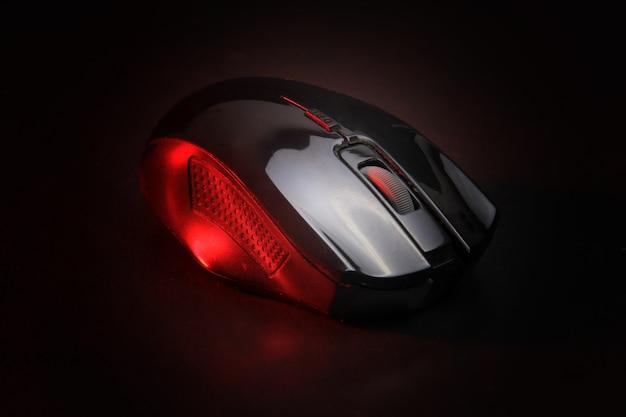 Um rato para um computador Foto Premium