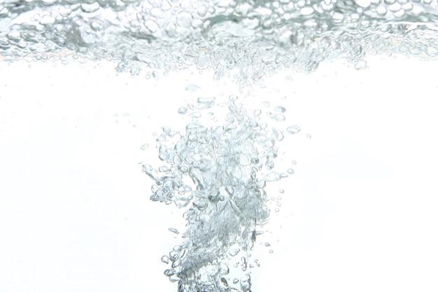 Um respingo abstrato de água doce Foto gratuita