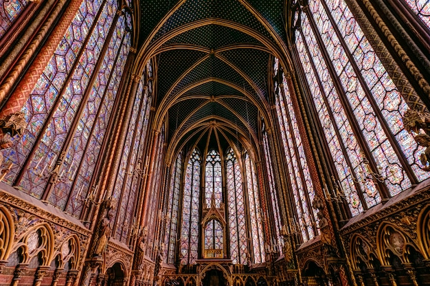 Uma capela real em estilo gótico Foto Premium