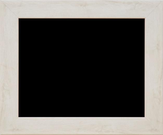 Uma moldura de madeira preta Foto gratuita