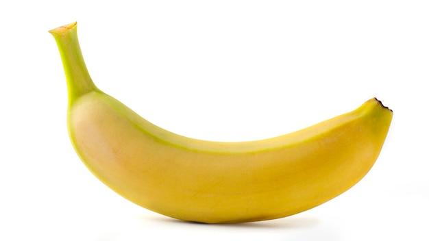Uma pequena banana madura Foto Premium