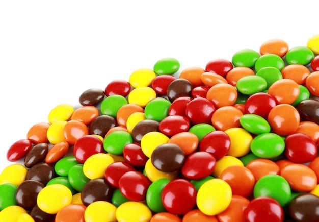 Uma pilha de doces Foto Premium