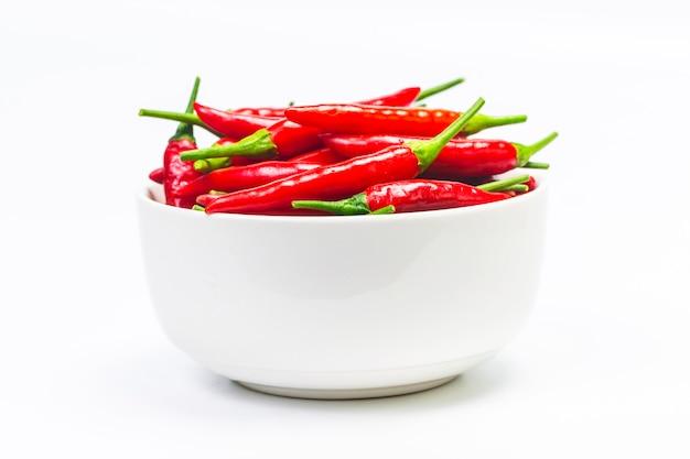 Uma tigela de pimenta Foto gratuita