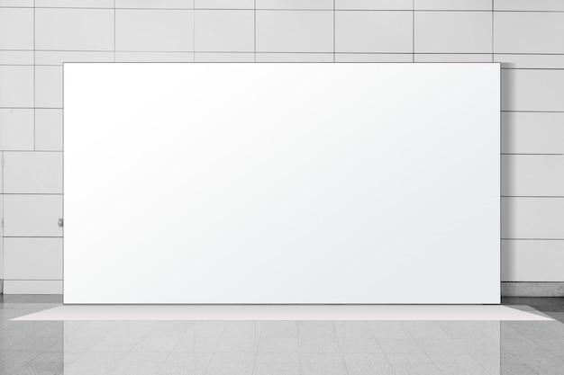 Unidade básica de pop-up de tecido pano de fundo de exibição de mídia de banner de publicidade Foto Premium