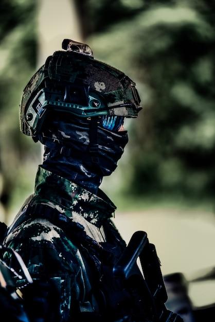 Uniforme soldado Foto Premium