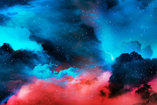Universo abstrato colorido com textura Foto gratuita
