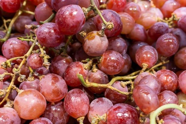 Uvas de frutas frescas Foto Premium