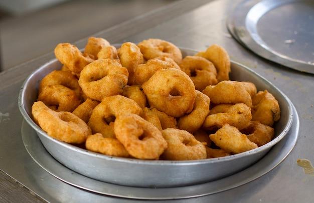 Vada south indian food Foto Premium