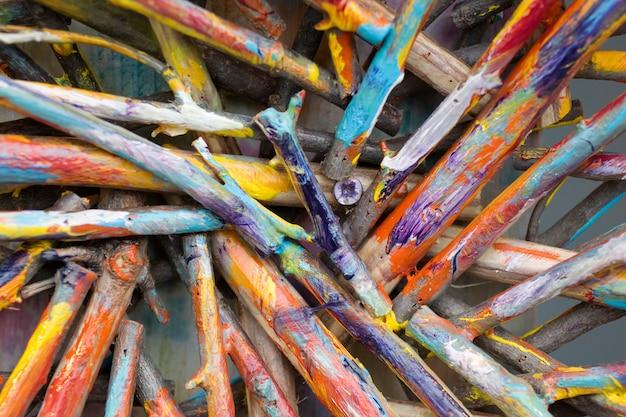Varas coloridas Foto Premium