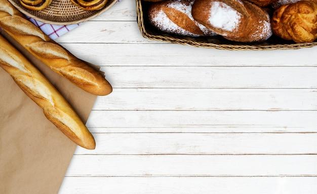 Variação da cozinha caseira de pastelaria Foto gratuita