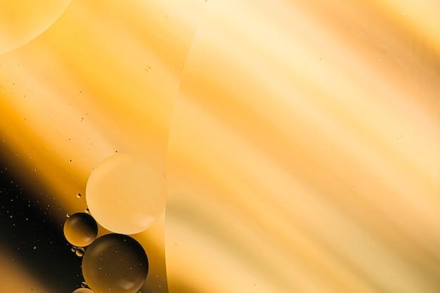Variedade de formas de gradiente para a superfície do espaço da cópia e bolhas Foto gratuita