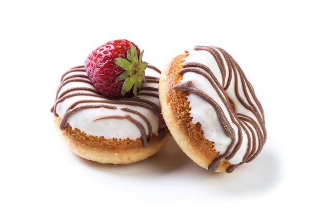 Vários donuts Foto Premium