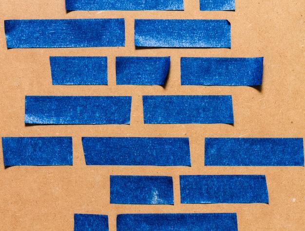 Vários tamanhos de linhas para papel de parede adesivo azul Foto gratuita