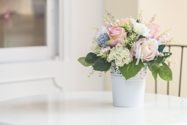 Vaso de flores Foto gratuita