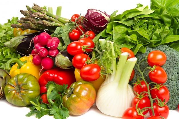 Vegetais frescos Foto Premium