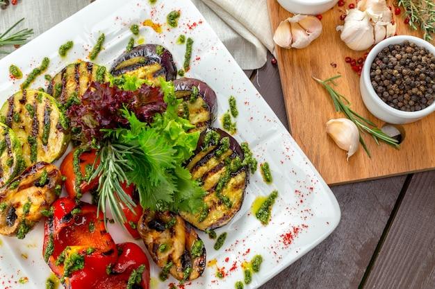 Vegetais grelhados Foto Premium