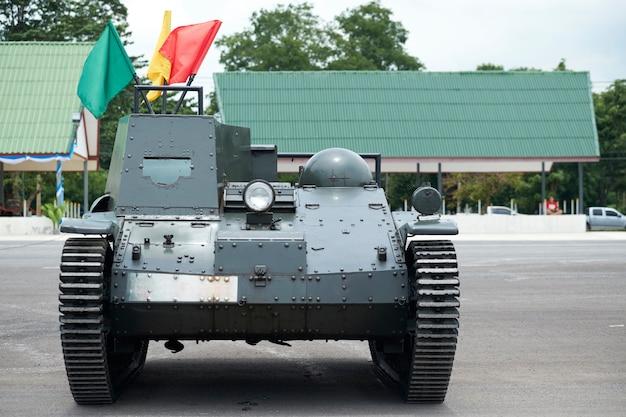 Veículos utilizados em manobras de campo. Foto Premium
