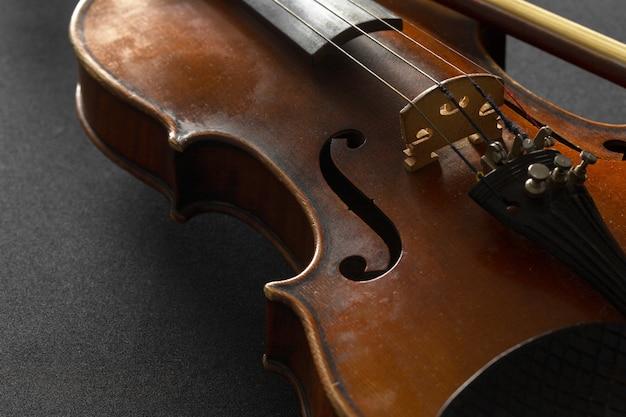 Velho violino Foto Premium