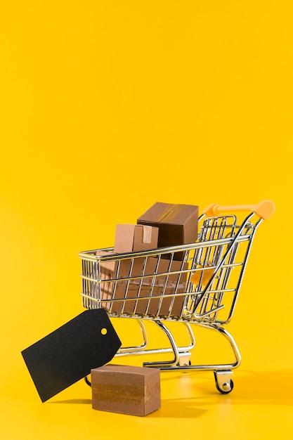 Vendas de compras da cyber monday Foto Premium