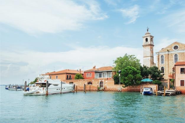 Veneza - grand canal da ponte de rialto Foto Premium