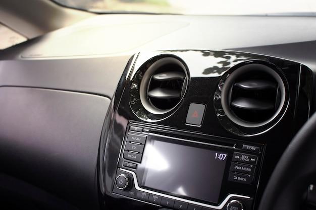 Ventilação do ar condicionado para ajustar o fluxo de ar. Foto Premium