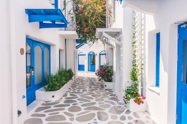 Viajar arquitectura tradicional aegean mediterranean Foto gratuita