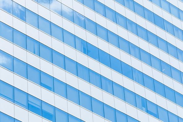 Vidro de reflexão de construção Foto gratuita