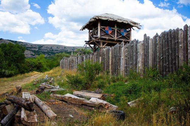 Vikings construídos Foto Premium
