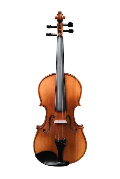 Violino isolado em branco Foto Premium