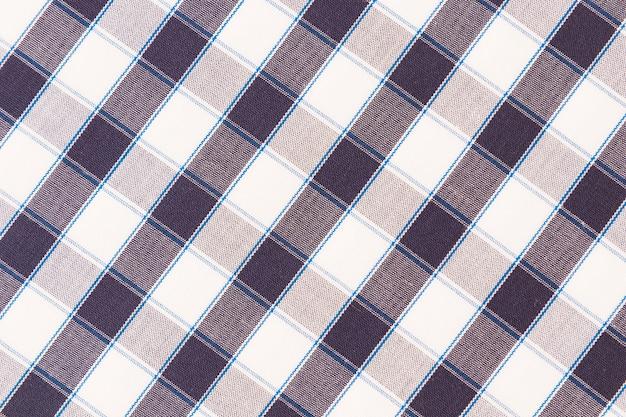Visão aérea de pano de fundo quadriculado de textura Foto gratuita