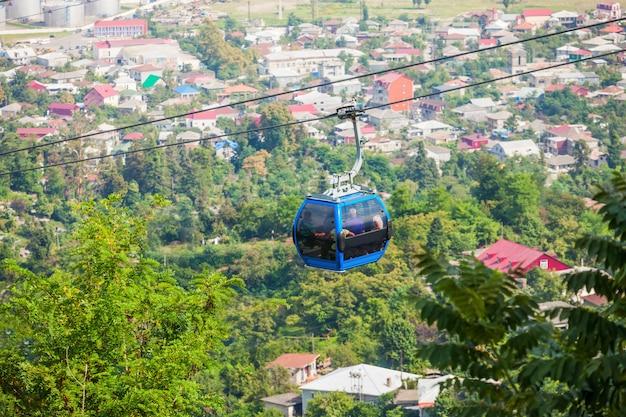 Vista aérea de batumi Foto Premium