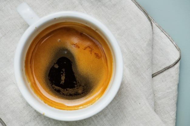 Vista aérea, de, café quente Foto gratuita