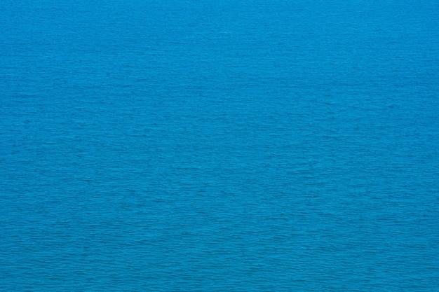 Vista aérea do drone. linda textura turquesa de água do mar Foto Premium