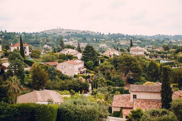 Vista da cidade de nice, frança Foto Premium