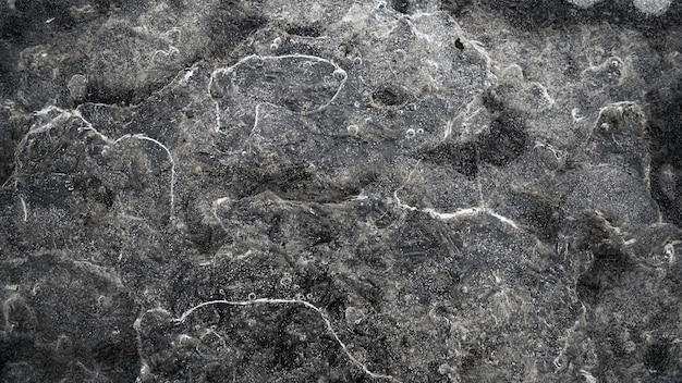 Vista de alto ângulo de pedras cobertas de água. Foto gratuita