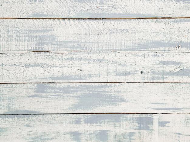Vista de alto ângulo de textura de prancha de madeira branca Foto gratuita
