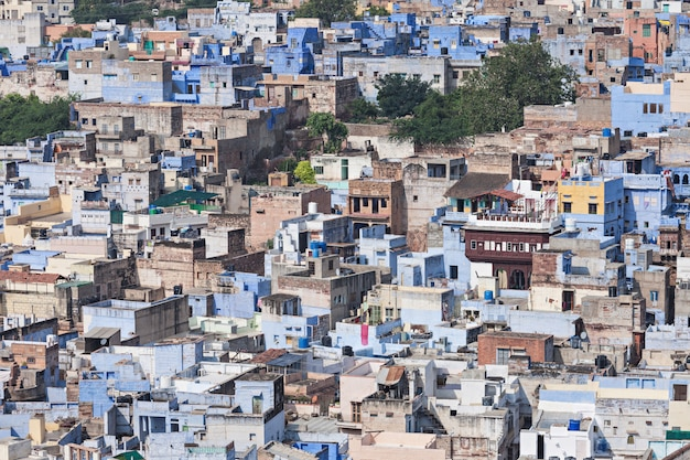 Vista de jodhpur Foto Premium