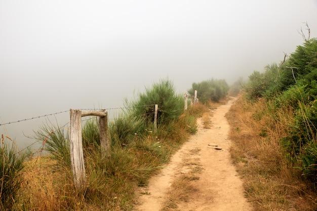Vista do caminho da galiza Foto Premium