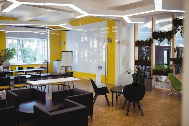 Vista do escritório moderno Foto gratuita