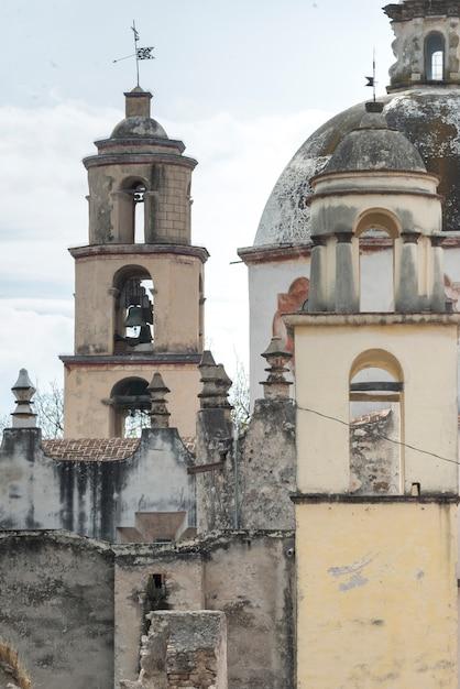 Vista exterior, de, a, igreja, santuário, de, atotonilco, san miguel allende, guanajuato, méxico Foto Premium