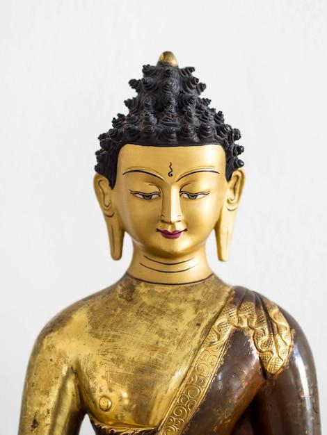 Vista frontal da estatueta hindu Foto gratuita