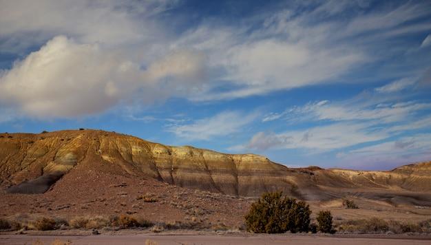 Vista panoramic, de, a, vermelho, pedras, área, em, norte, novo méxico Foto Premium