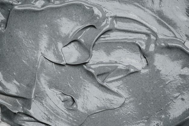 Vista superior do fundo de cimento cinza Foto gratuita