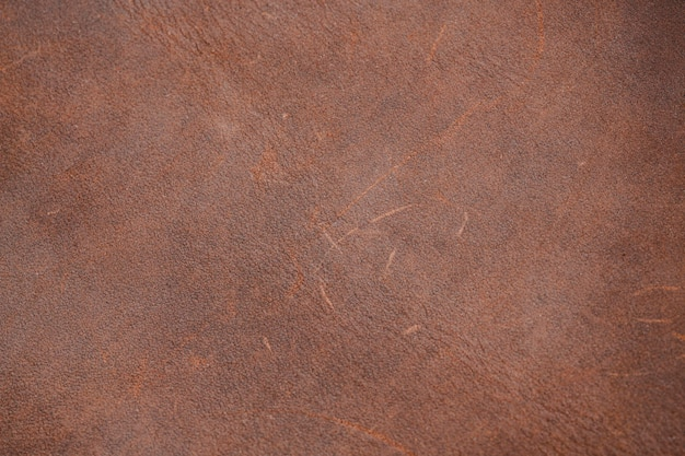 Vista superior do fundo de textura de couro Foto gratuita