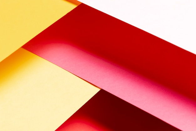 Vista superior gradiente cores quentes padrão Foto gratuita